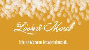 Svatební oznámení JSO13