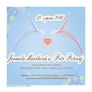 Svatební oznámení JSO21