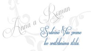 Svatební oznámení JSO4