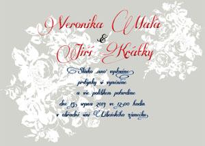 Svatební oznámení KSO11