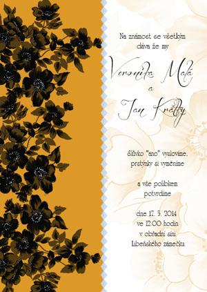 Svatební oznámení KSO12