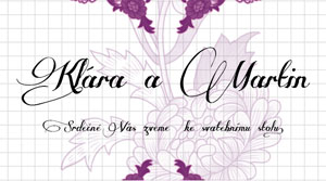 Svatební oznámení KSO13