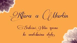 Svatební oznámení KSO14