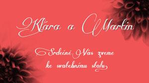 Svatební oznámení KSO15