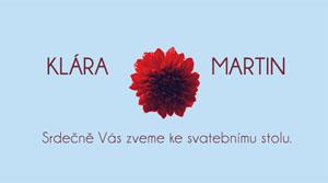 Svatební oznámení KSO16