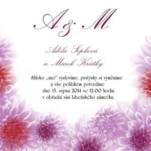 Svatební oznámení KSO19