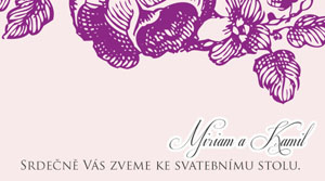 Svatební oznámení KSO32