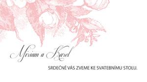Svatební oznámení KSO35