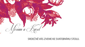 Svatební oznámení KSO36