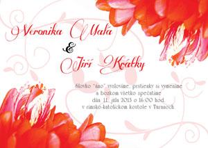 Svatební oznámení KSO4