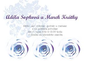 Svatební oznámení KSO5