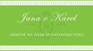 Svatební oznámení LSO11
