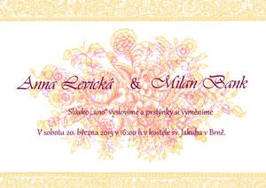 Svatební oznámení LSO20