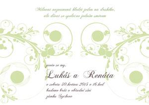 Svatební oznámení LSO23