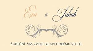 Svatební oznámení LSO24