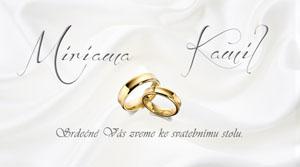 Svatební oznámení LSO26