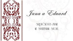 Svatební oznámení LSO2