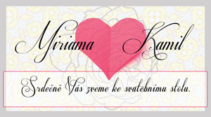 Svatební oznámení LSO32