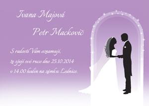Svatební oznámení LSO33