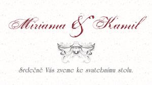 Svatební oznámení LSO37