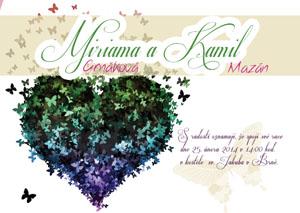 Svatební oznámení LSO42