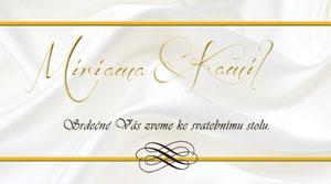 Svatební oznámení LSO43