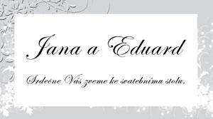 Svatební oznámení LSO4