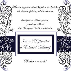 Svatební oznámení LSO5