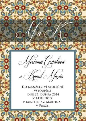 Svatební oznámení LSO50