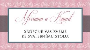 Svatební oznámení LSO51