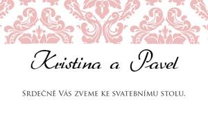 Svatební oznámení LSO60