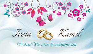 Svatební oznámení LSO61