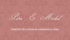 Svatební oznámení LSO62