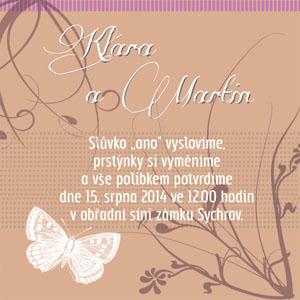 Svatební oznámení LSO7
