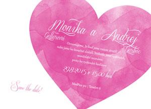 Svatební oznámení NO10