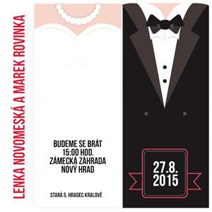 Svatební oznámení NO2
