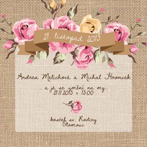 Svatební oznámení NO22