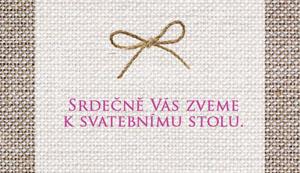 Svatební oznámení NO26