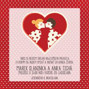 Svatební oznámení NO28