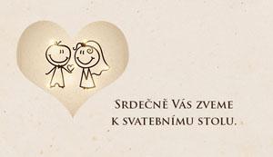Svatební oznámení NO34