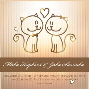 Svatební oznámení NO35