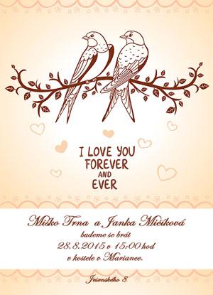 Svatební oznámení NO36