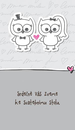 Svatební oznámení NO37
