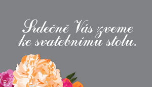 Svatební oznámení NO3