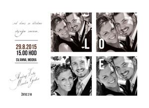 Svatební oznámení NO7