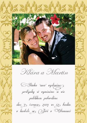 Svatební oznámení SFOT1