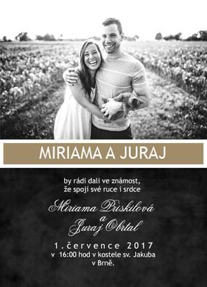 Svatební oznámení SFOT13