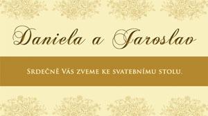 Svatební oznámení SFOT14