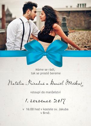 Svatební oznámení SFOT16