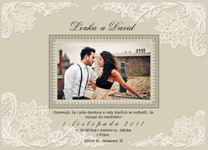 Svatební oznámení SFOT19